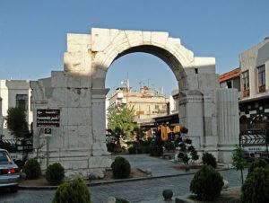 Roman arch.